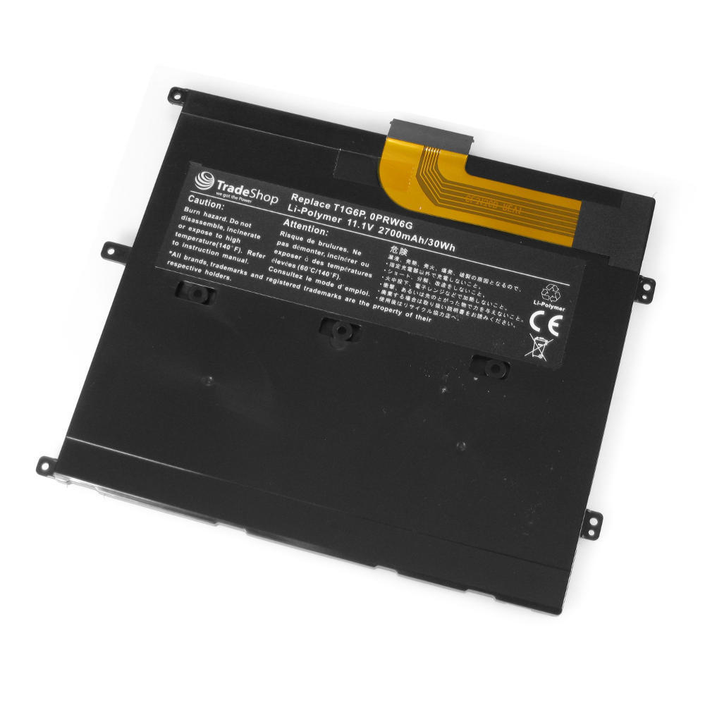 2700mAh Dell 0449TX 0NTG4J 0PRW6G 312-8479 compatible battery