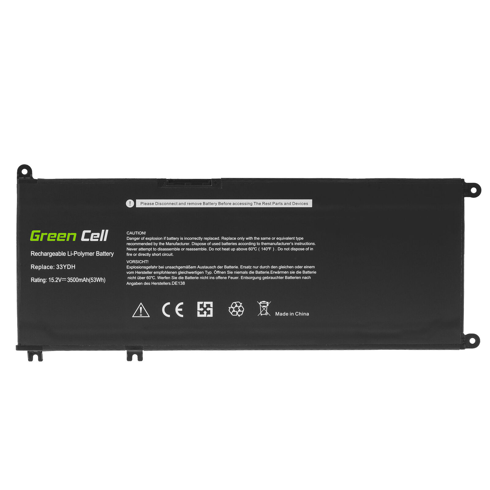 Dell Inspiron 15-7577,15GD 15PD 15PR 17PD 15 7577/17 7773/17 7778 7779 compatible battery