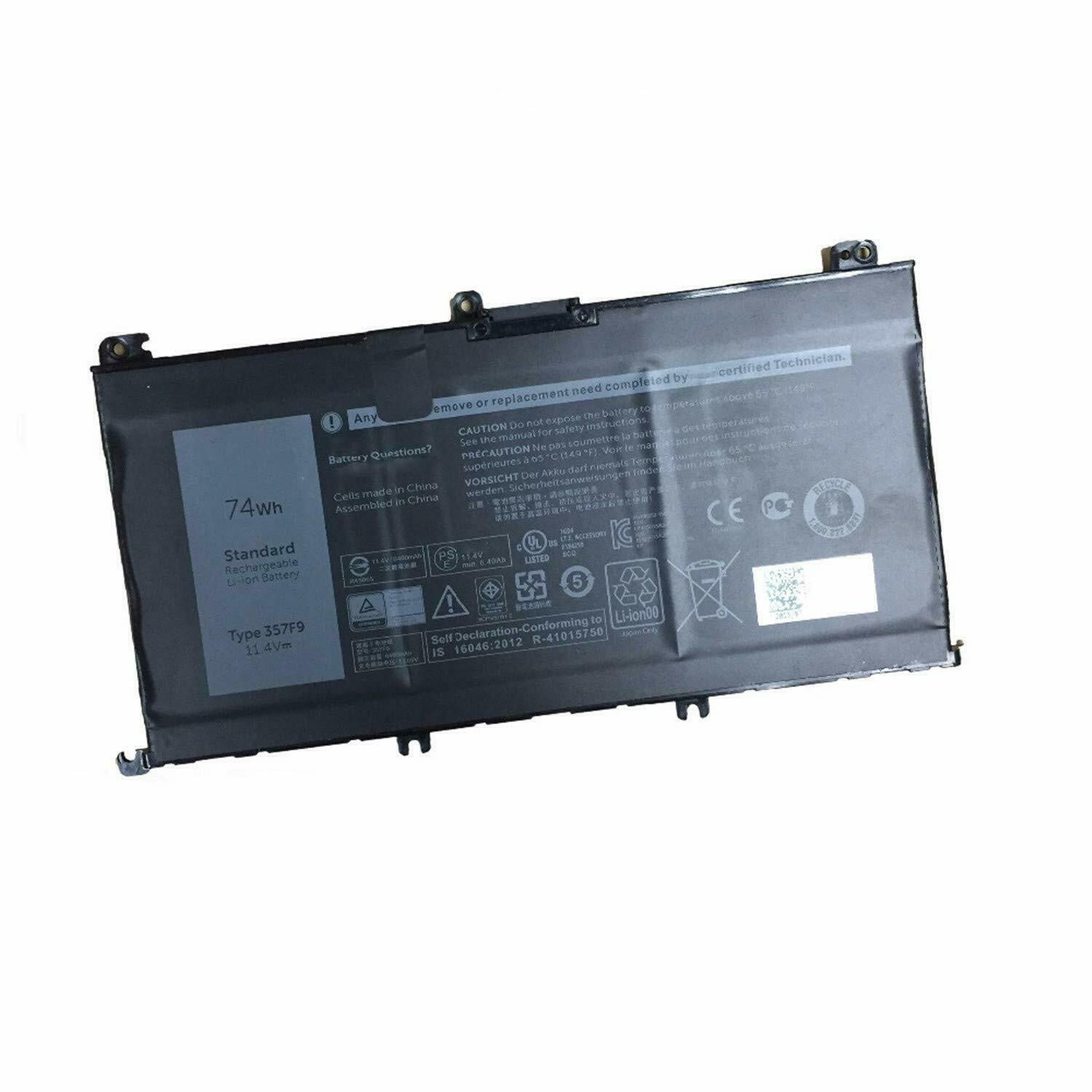 Dell Inspiron 15 7000 7566 7567 7557 7559 compatible battery