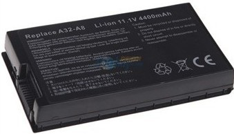 Asus A32-A8 L3TP B991205 SN31NP025321 90-NF51B1000 compatible battery