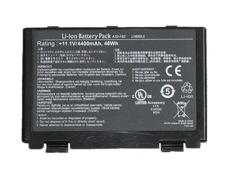 Asus K70 X5DAB-SX070V X5DAD X5DI X5DIN X70a X70ad X70ab A32-f82 lo690l6 replacement battery