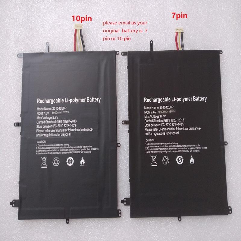 7pin TH140A NV-2874180 JUMPER Ezbook X4 S4 Gemini NC14 compatible battery