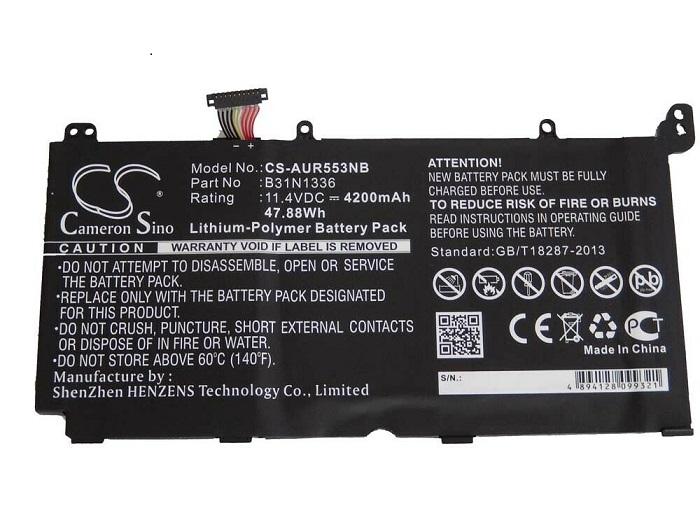 A42-S551 C31-S551 ASUS S551 S551 S551L S551LA S551LB compatible battery