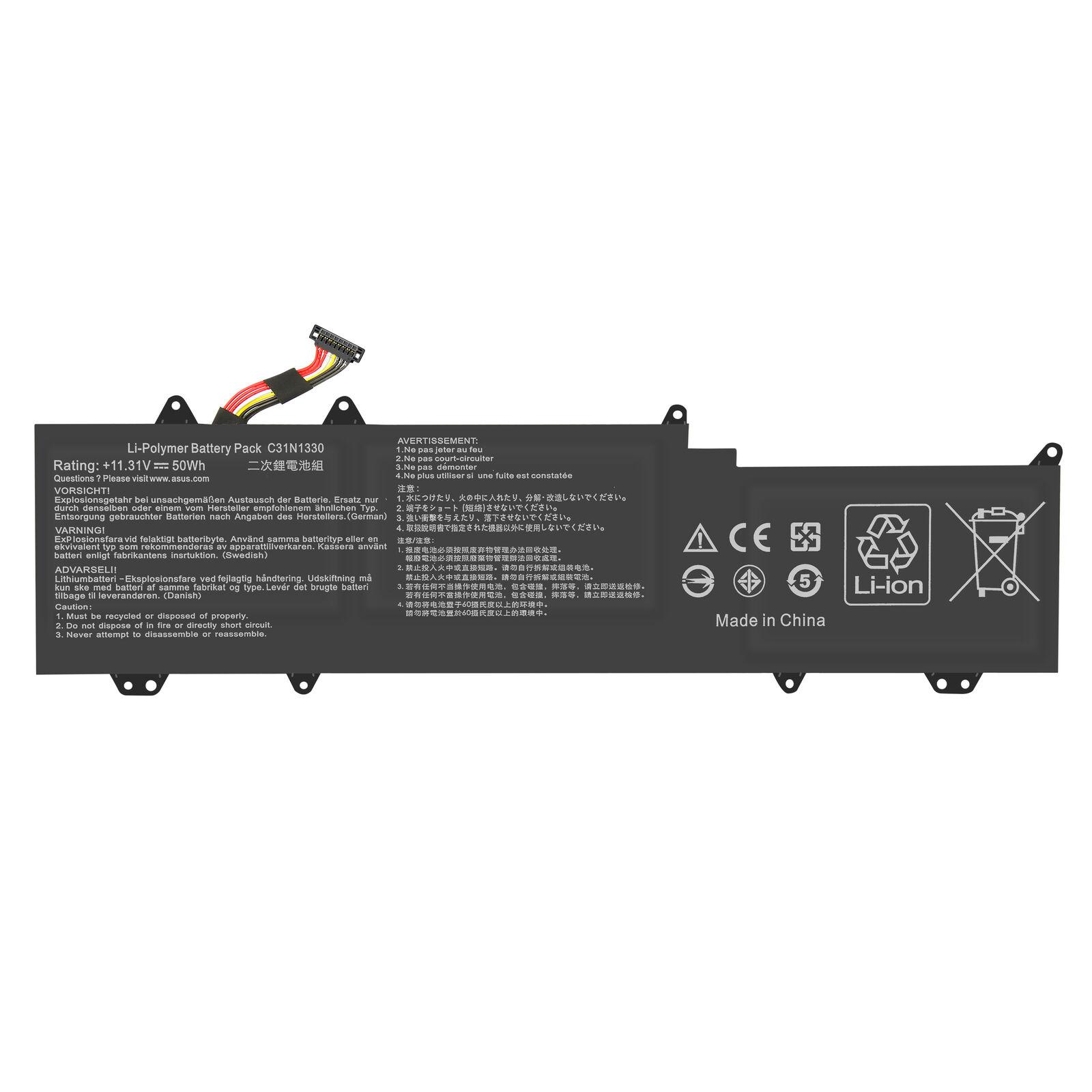C31N1330 0B200-0007020 ASUS ZenBook UX32LA R3007H UX32LN compatible battery
