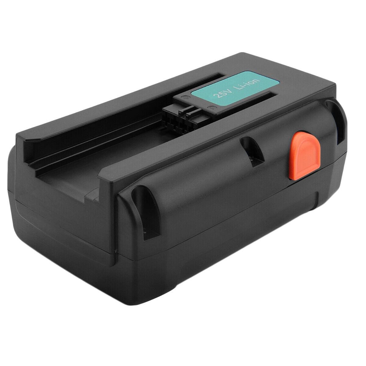 25V 5000mAh Gardena 04025-20 8838 380 LI Spindelmaher 4025-20 compatible Battery