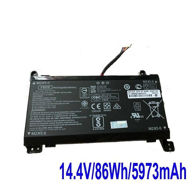 HP OMEN 17-AN013TX 922752-421 922753-421 HSTNN-LB8A compatible battery