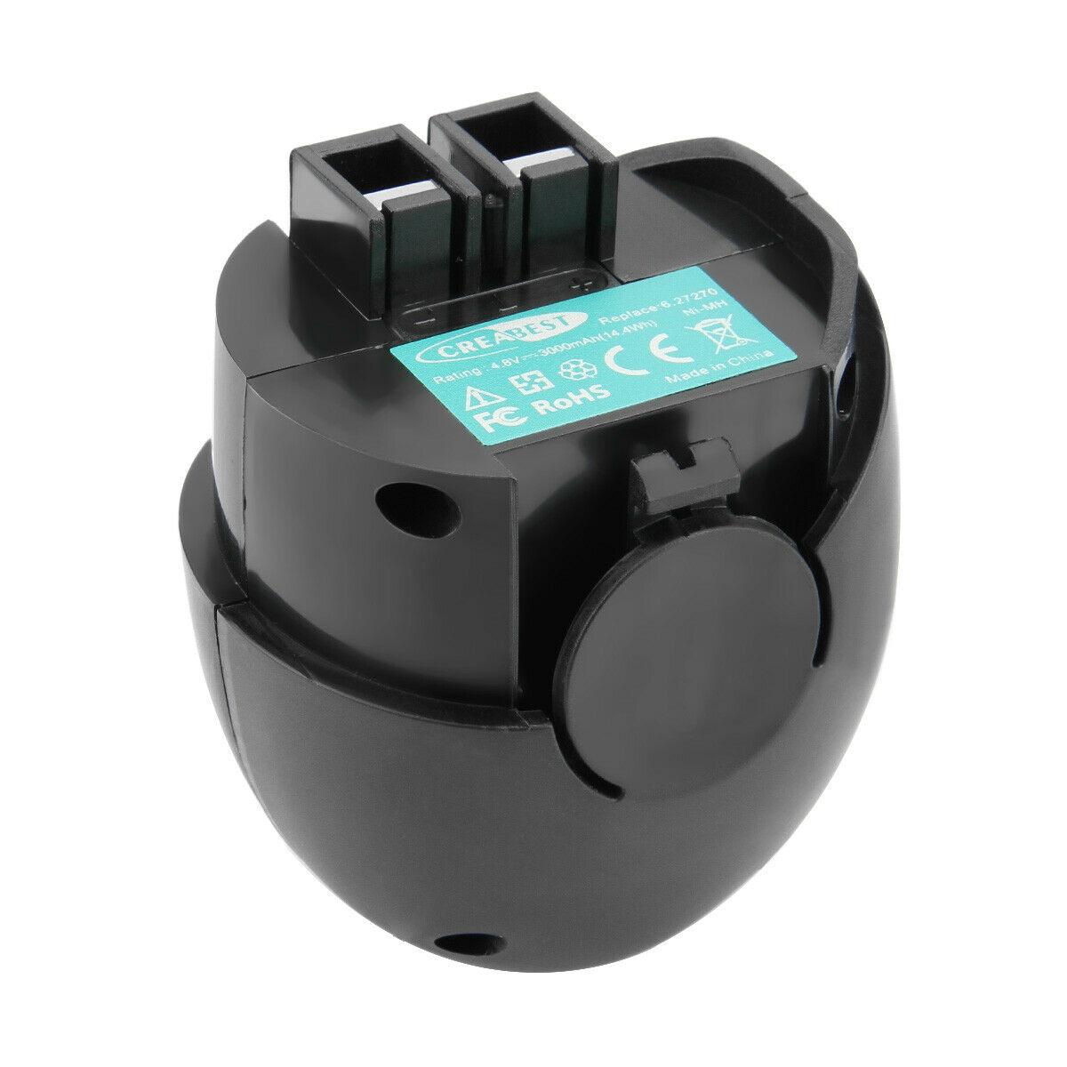 4.8V 3.0AH Ni-MH Metabo Powergrip 2 II Flashlight Powermaxx 6.27270 compatible Battery