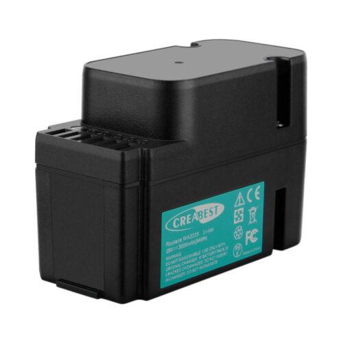28V 3000mAh Worx Landroid M800 WG790E.1, M500 WG754E compatible Battery